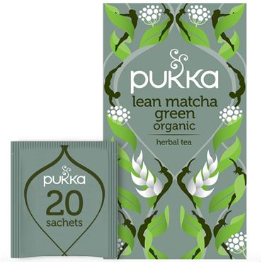 Pukka Lean Matcha Green 20 Tea Sachets