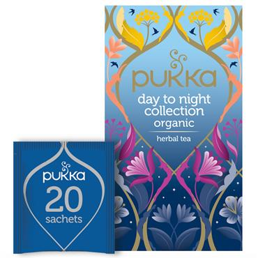 Pukka Day to Night Tea Collection 20s