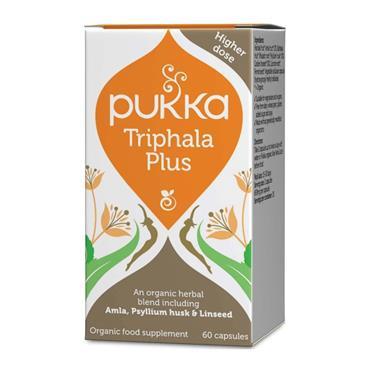 Pukka Organic Triphala Plus 60 Capsules