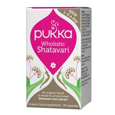 Pukka Wholistic Shatavari 30 Capsules