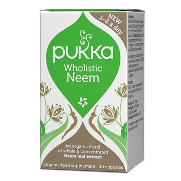 Pukka Wholistic Neem - 30 Capsules