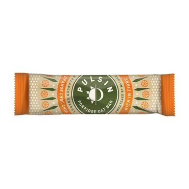 Pulsin Porridge Oat Bar Orange & Chocolate 40g