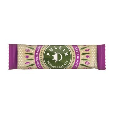 Pulsin Porridge Super Seed & Maple Syrup Bar 40g