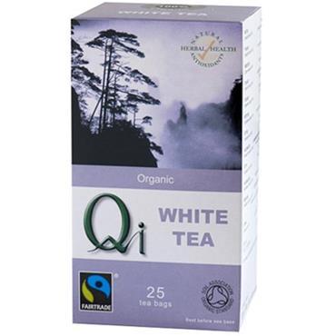 Qi Organic White Tea 25 sachets