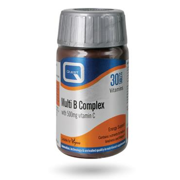 Quest Multi B Complex + Vitamin C 60s