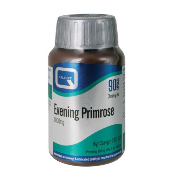 Quest Evening Primrose Oil 1000Mg 90 Capsules