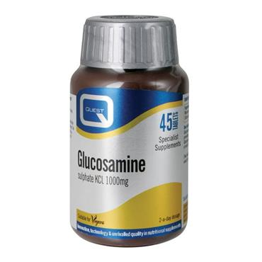 Quest Glucosamine Sulphate 1000mg 90 Tablets