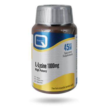 L-Lysine 1000mg 45 Tablets