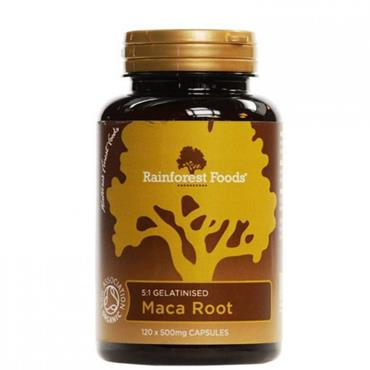 Rainforest Maca Root 120 Capsules
