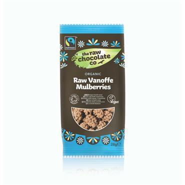 The Raw Chocolate Company Organic Raw Vanoffe Mulberries 28g