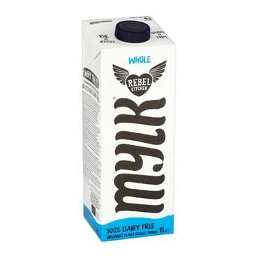 Rebel Kitchen Organic Dairy-Free Whole Mylk 1 Litre