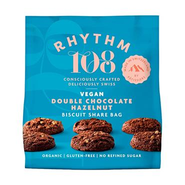 Rhythm 108 Organic Double Chocolate Biscuits 160g