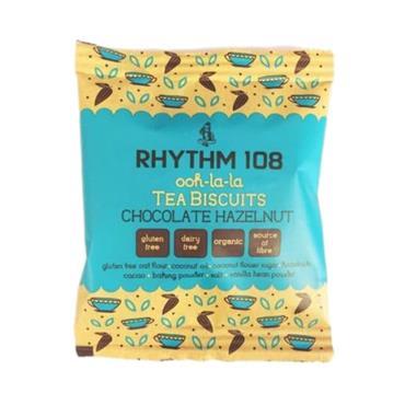 Rhythm 108 Organic Tea Biscuits Chocolate Hazelnut 24g