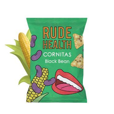 Rude Health Black Bean Cornitas 30g