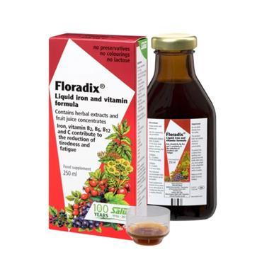 Salus Floradix Liquid Iron & Vitamin Formula 250ml