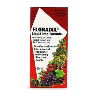 Salus Floradix Liquid Iron & Vitamin Formula 500ml