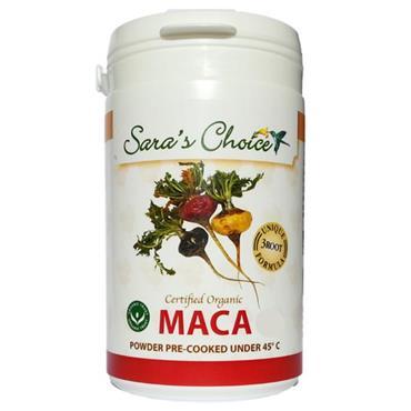 Sara's Choice Organic Maca  Veg Caps 180s