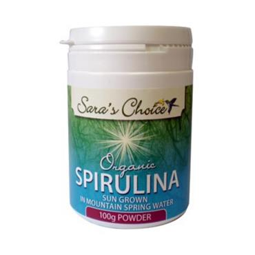 Sara's Choice Organic Spirulina Powder 100g