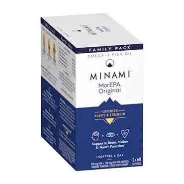 Minami Nutrition MorEPA Smart Fats 120s