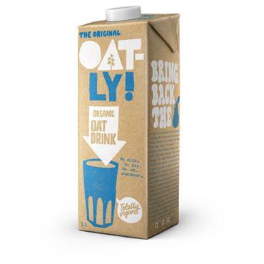 Oatly Organic Oat Drink 1ltr
