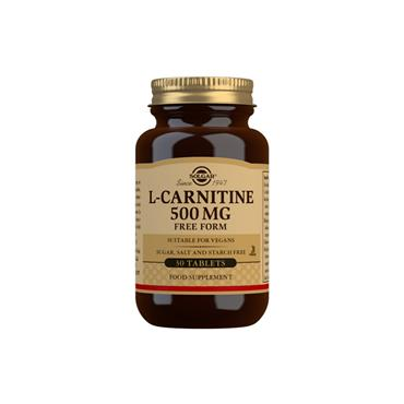 Solgar L-Carnitine 500mg 30 Tablets