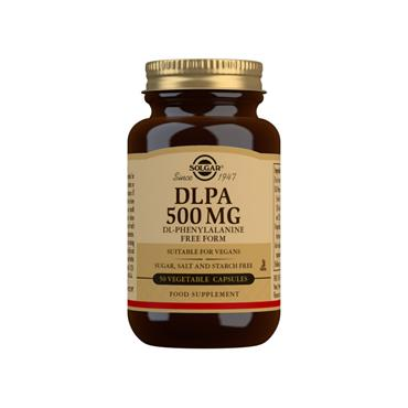 Solgar DLPA DL-Phenylalanine 500mg 50 Capsules