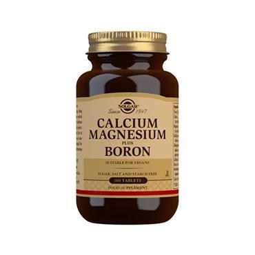 Solgar Calcium Magnesium plus Boron Tablets 100s