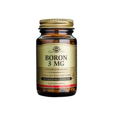 Solgar Boron 3mg 100 Capsules
