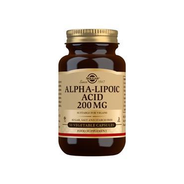 Solgar Alpha Lipoic Acid 200mg 50 veg capsules