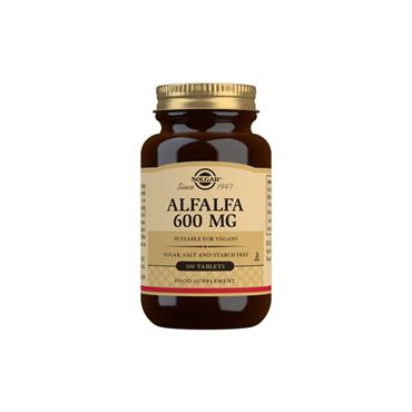 Solgar Alfalfa 600mg 100 Tablets