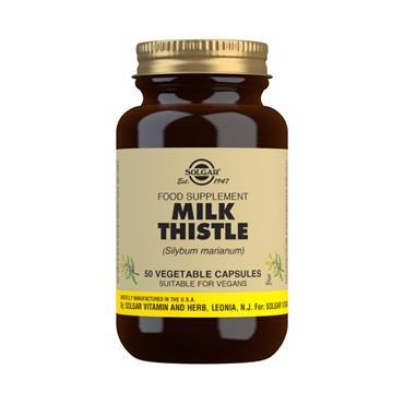 Solgar Milk Thistle 100mg Veg Caps 50s