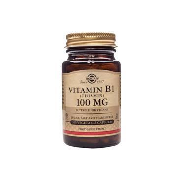 Solgar Vitamin B1 100mg 100 Capsules