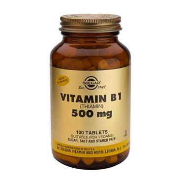Solgar Vitamin B1 500mg 100 Tablets