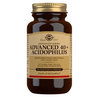 Solgar Advanced 40+ Acidophilus Veg Caps 60s