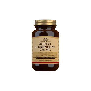 Solgar Acetyl-L-Carnitine 250mg 30 Capsules