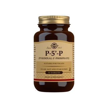 Solgar Pyridoxal-5-Phosphate (P-5-P) 50mg 50 Tablets