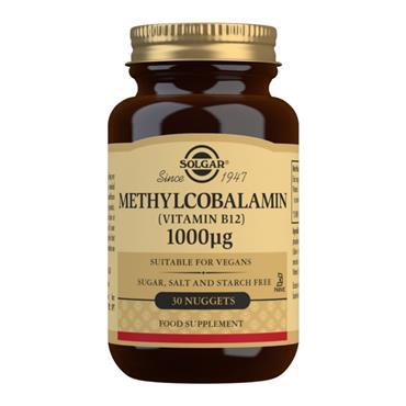 Solgar Methylcobalamin 1000ug Nuggets (B12) - 30 Nuggets