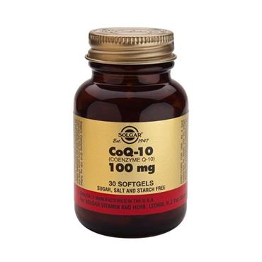 Solgar Co Q-10 100mg Softgels