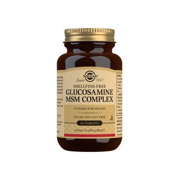 Solgar Glucosamine MSM Complex 60 Tablets