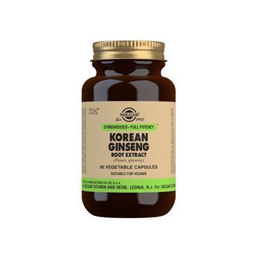 Solgar Korean Ginseng SFP 60 Capsules