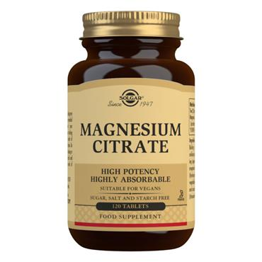 Solgar Magnesium Citrate Tablets 120s
