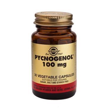 Solgar Pycnogenol 100mg Veg Caps 30s