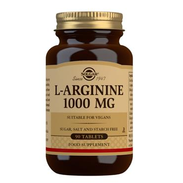 Solgar L-Arginine 1000mg 90 Tablets
