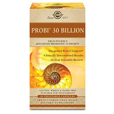 Solgar Probi 30 Billion 30 Vegetable Capsules
