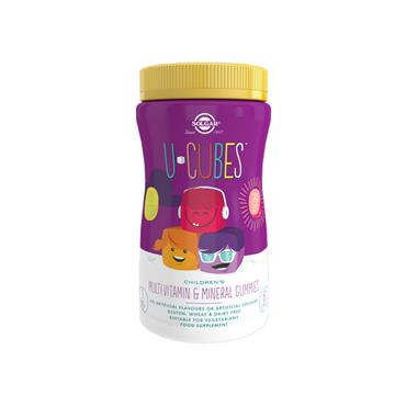 Solgar U-Cubes Multi-Vitamin & Mineral Gummies 60s
