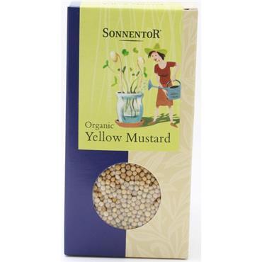 Sonnentor Organic Yellow Mustard Seed 100g