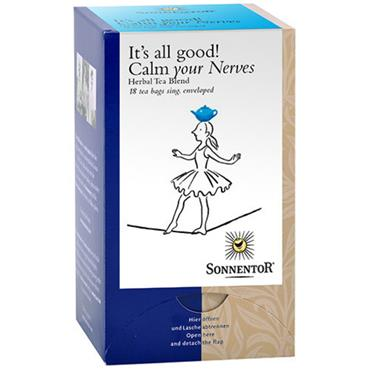 Sonnentor Organic Calm Your Nerves Tea 18 Teabags