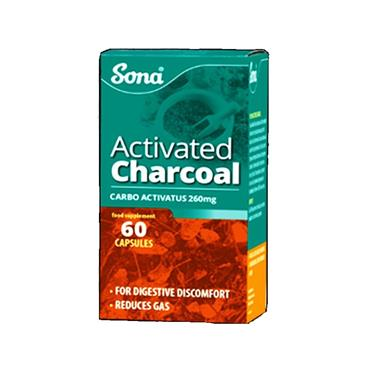 Sona Activated Charcoal - 60s