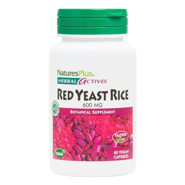 Nature's Plus Red Yeast Rice Veg Caps 60s