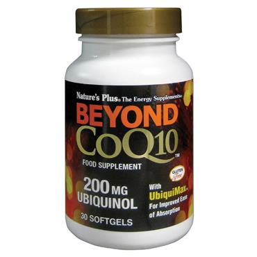 Nature's Plus Beyond Coq10 200mg Ubiquinol 30 Softgels